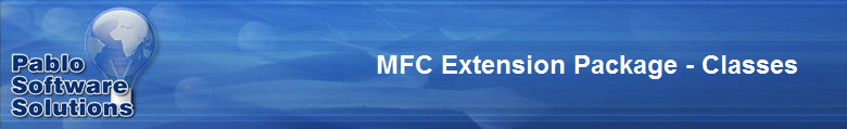 MFC Extension Package - Classes