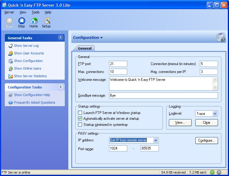 Quick 'n Easy FTP Server Lite