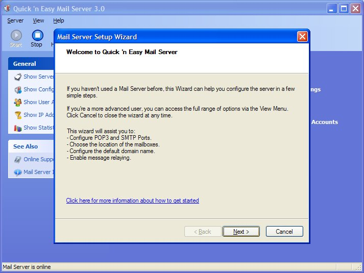 Quick 'n Easy Mail Server