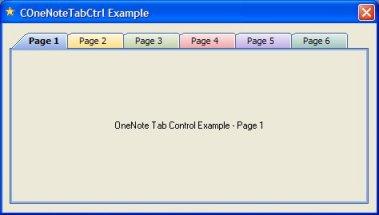 COneNoteTabCtrl Onenote